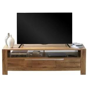 meuble tv en chene massif