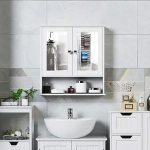 Armoire De Toilette Avec Miroir Achat Vente Armoire De Toilette Avec Miroir Pas Cher Soldes Sur Cdiscount Des Le 20 Janvier Cdiscount