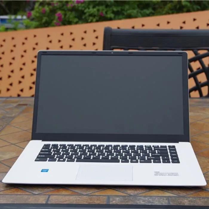 15 6 pouces 2 32 go pour ordinateur portable hd active par la camera wifi ordinateur portable blanc windows 10 family version