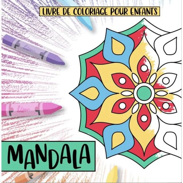 Mandala Coloriage Enfant Fille Garçon  29 mandalas amusants et