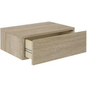 table de chevet suspendue table de