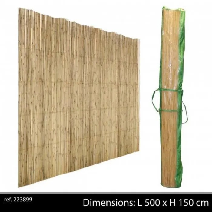 canisse bambou entier 1 5 m x 5 m