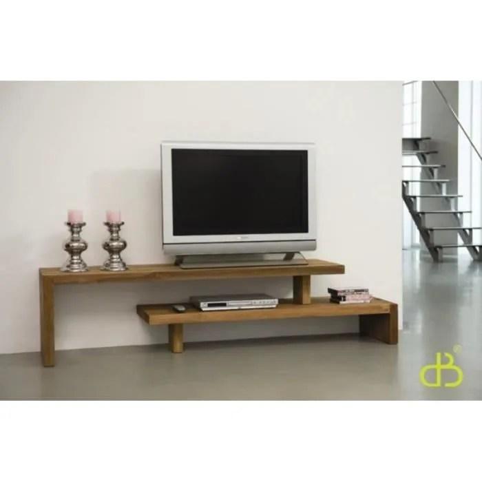 meuble tv teck modulable dbodhi 200 345