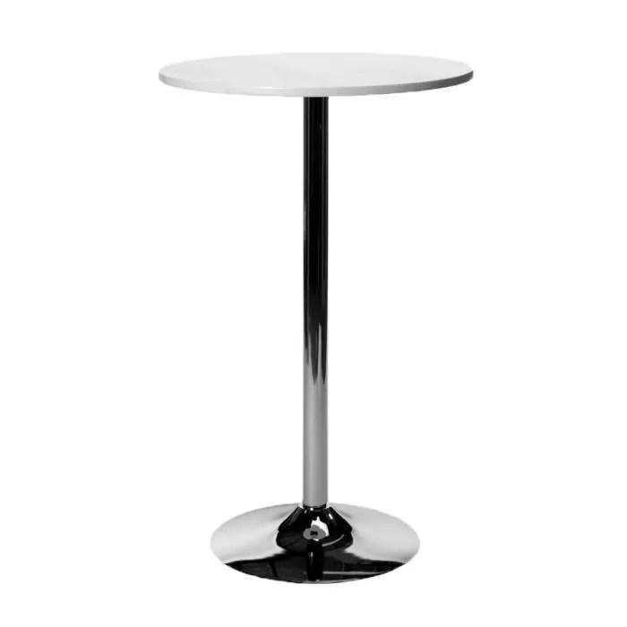 clp table de bar ronde diametre o 60 cm hauteur 95 cm ideale pour la gastronomie