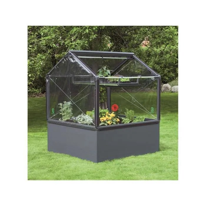carre potager growcamp 50 120 x 120 x 150 cm