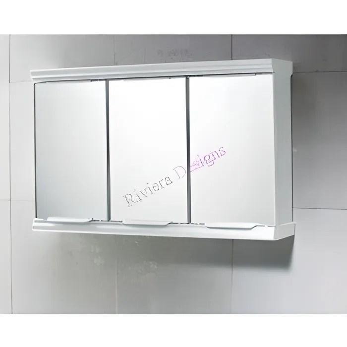 armoire pharmacie miroir