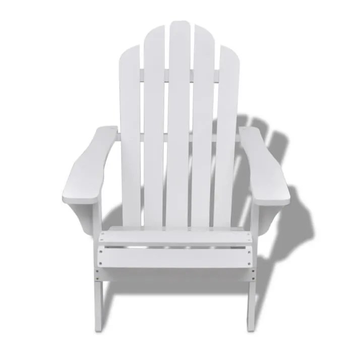 bois blanche chaise relaxation
