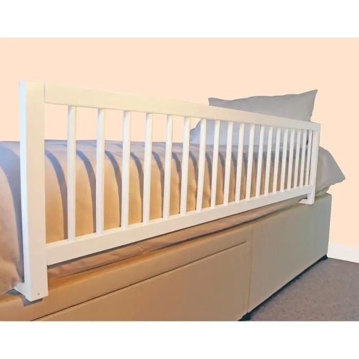 de lit en bois extra large blanc blanc
