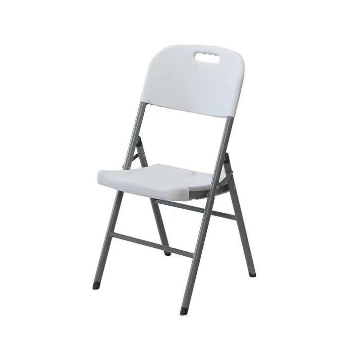 chaise pliante confort en resine ultra solide
