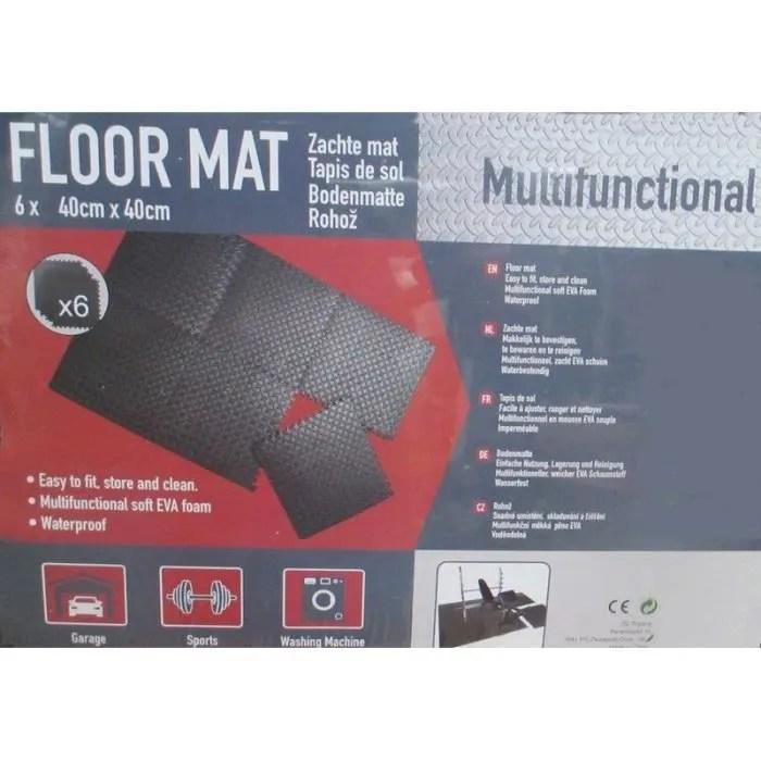 dalles de sol tapis anti bruit vibration puzzle am