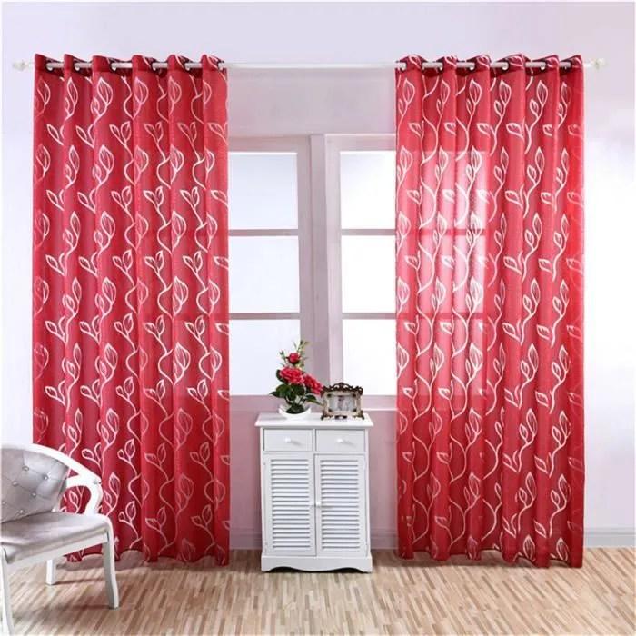 rideaux en tulle multicolore rideaux modernes pour