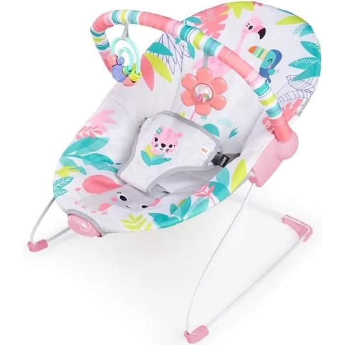 bright starts transat bebe vibrant flamingo vibes