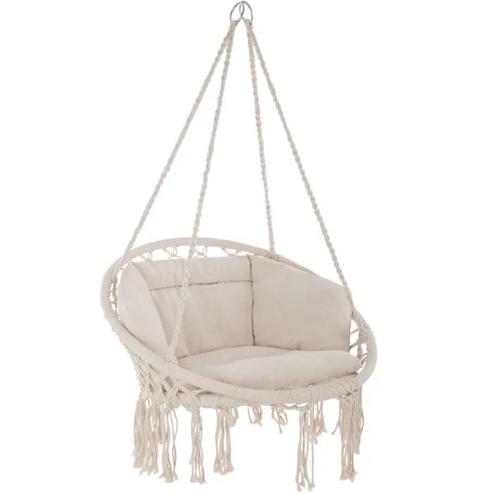 tectake fauteuil hamac suspendu design 1 place ext