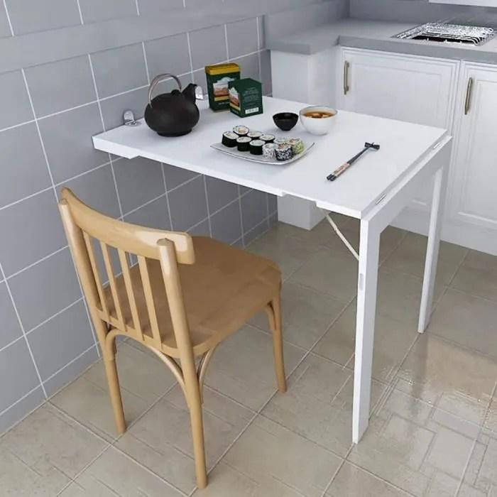 table murale rabattable folding mural