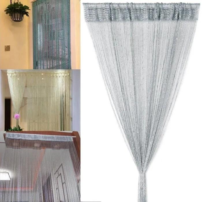 200x96cm rideau a cordes rideau de fil separation