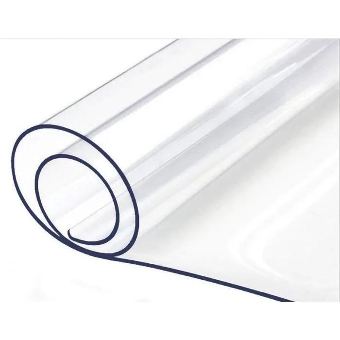 nappe transparente epaisse rectrangulaire de prot
