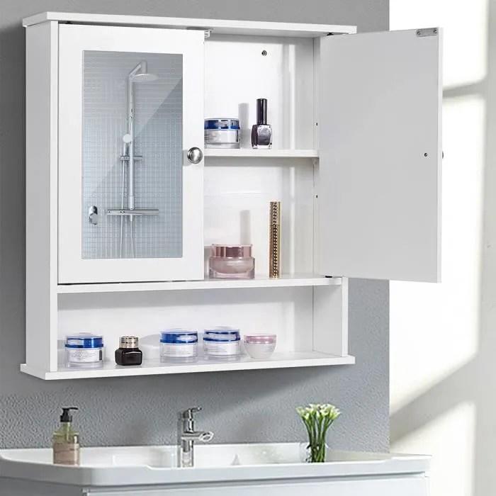meuble haut salle de bain profondeur 15