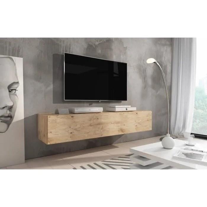 طبيب تمتص القدرة meuble tv suspendu bois amazon