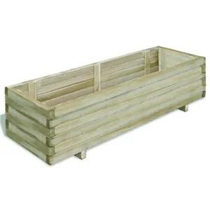 jardiniere rectangulaire bois