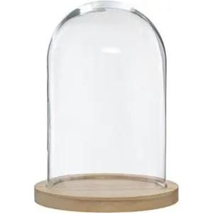 cloche en verre rectangulaire