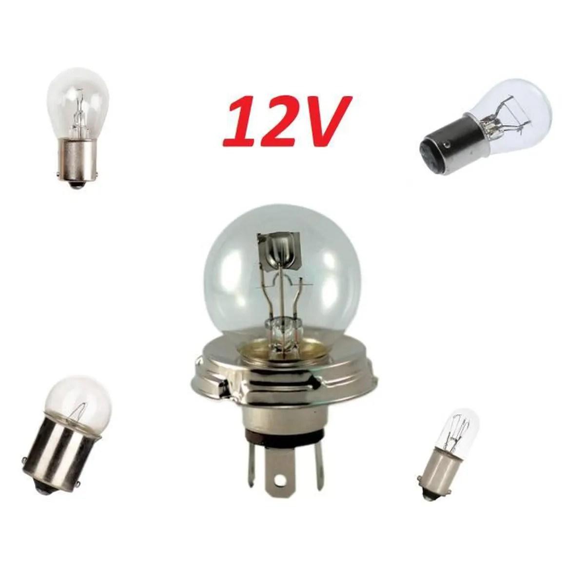 coffret ampoules 12v