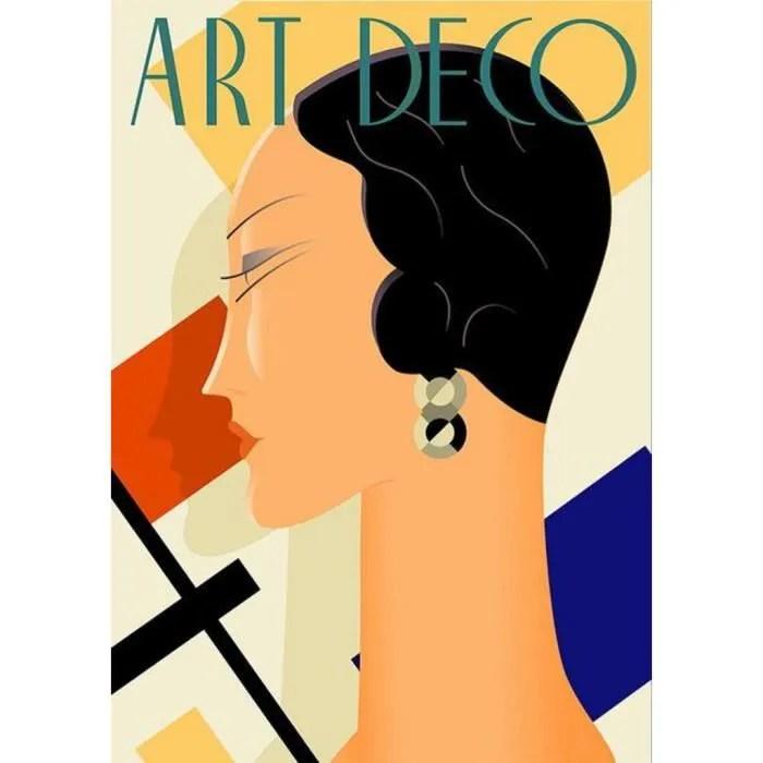 poster affiche art deco affiche d epoque annees 20 mode vintage 31cm x 44cm