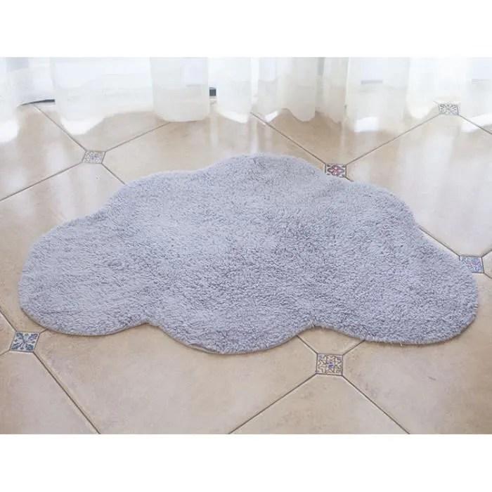 tapis de sol nuage pour chambre enfant grand tapi
