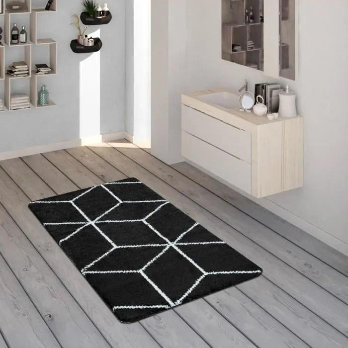tapis de bain tapis poils ras pour salle de bain