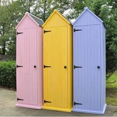 armoire etanche de jardin en bois type