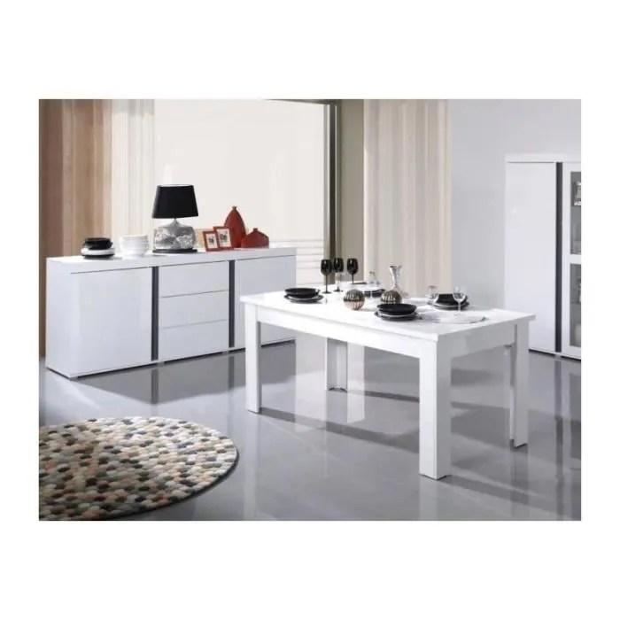 table extensible 180 220 cm blanc