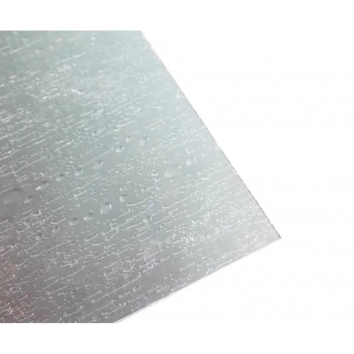 verre synthetique aspect bulles l 100 cm l 100 cm e 5 mm translucide