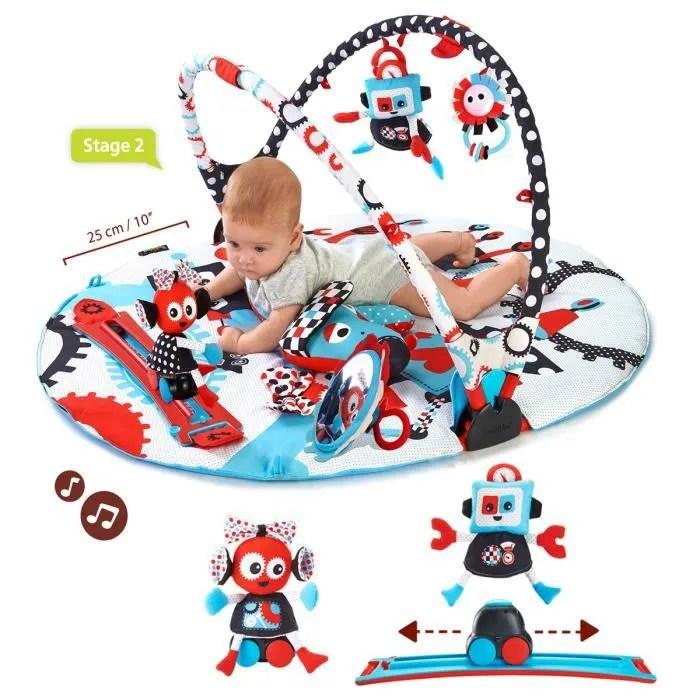 yookidoo tapis d eveil gymotion robot