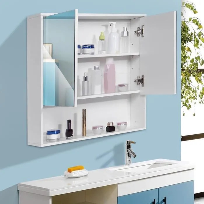 meuble haut de salle de bain
