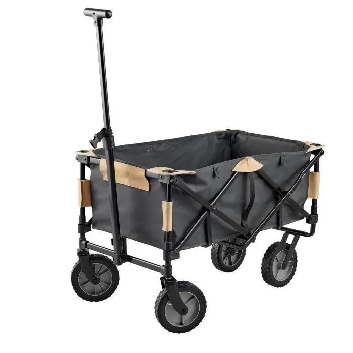 chariot de transport pliant pour materiel de campi
