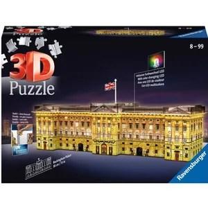 puzzle 3d tour eiffel illuminee