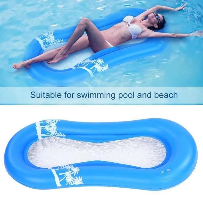 mousse matelas flottant pour piscine