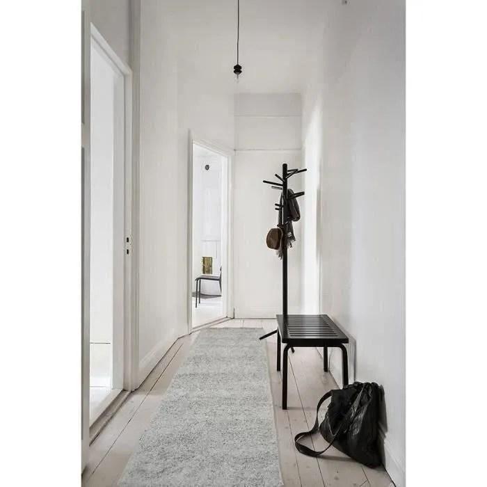 tapis couloir au metre a couper gris