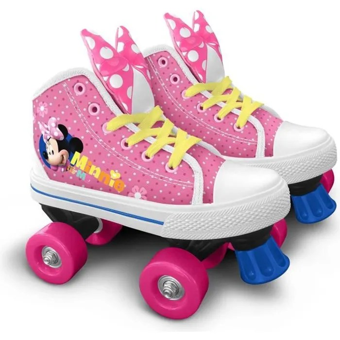 patins a roulettes minnie