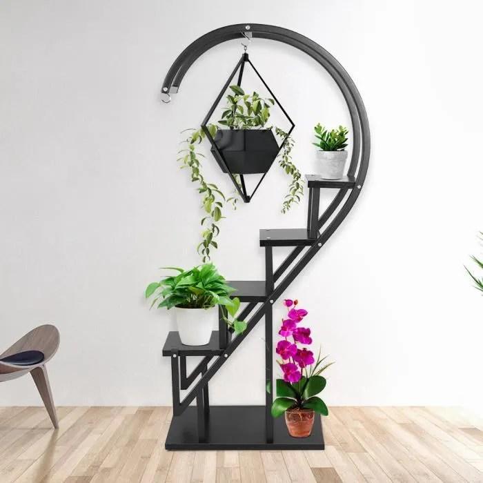 presentoir balcon support pot fleur en