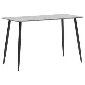 table a manger scandinave gris