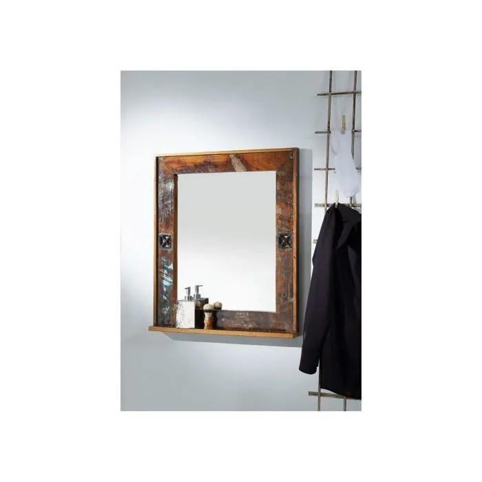 Miroir De Salle De Bain Bois Recycle Laque Multicolore Inspiration Ethnique Nature Of Spirit 104 Achat Vente Miroir Salle De Bain Soldes Sur Cdiscount Des Le 20 Janvier Cdiscount