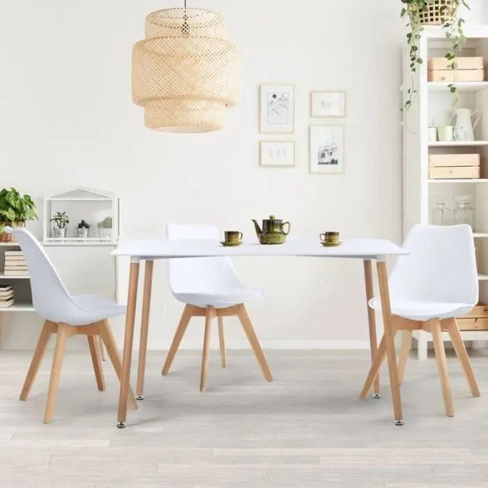 table a manger scandinave sara blanche