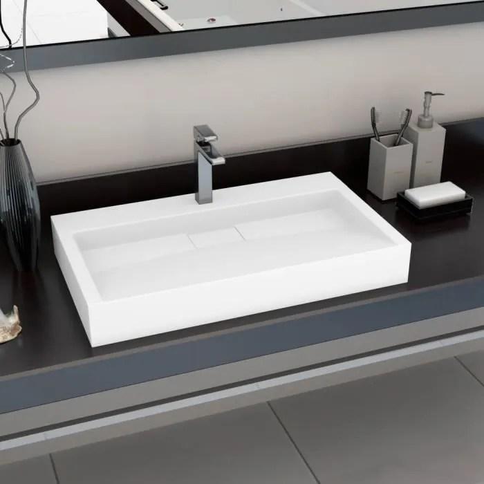 luxueux magnifique lavabo vasque de salle de bain