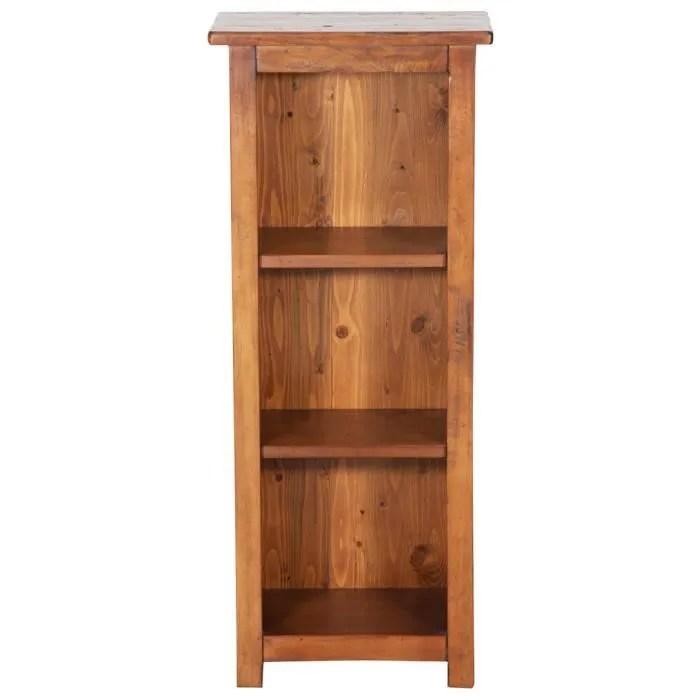 petite bibliotheque en bois massif de tilleul fini