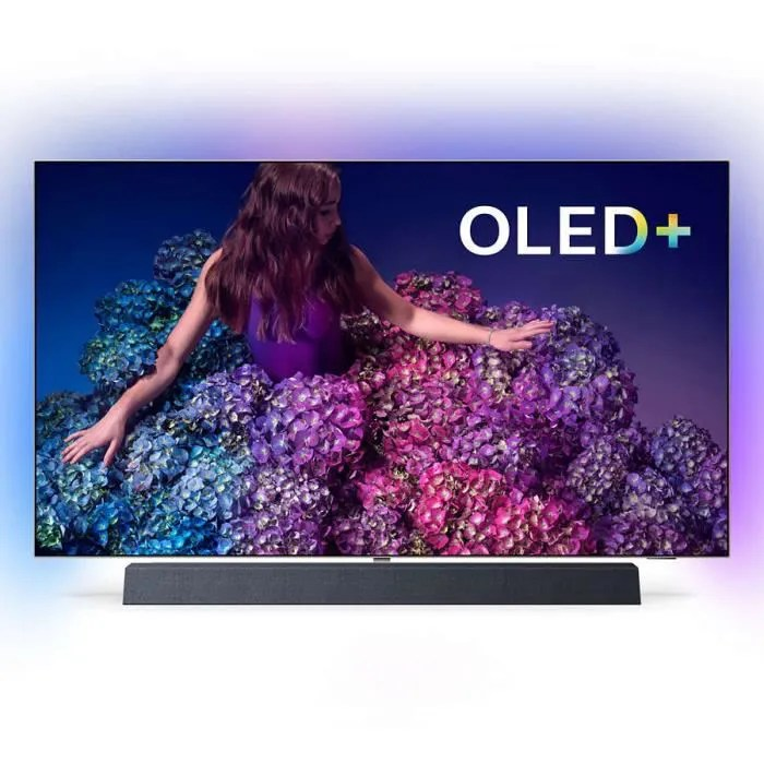 philips 65oled934 televiseur oled 4k ultra hd 65 165 cm 16 9 3840 x 2160 pixels ultra hd 2160p hdr wi fi bluetooth