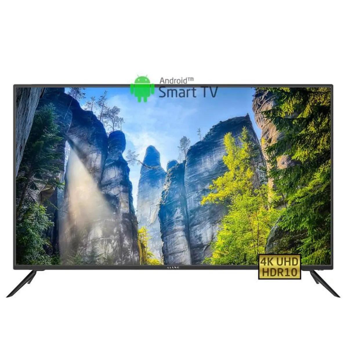 slim tv 50 pouces 127 cm frameless tv