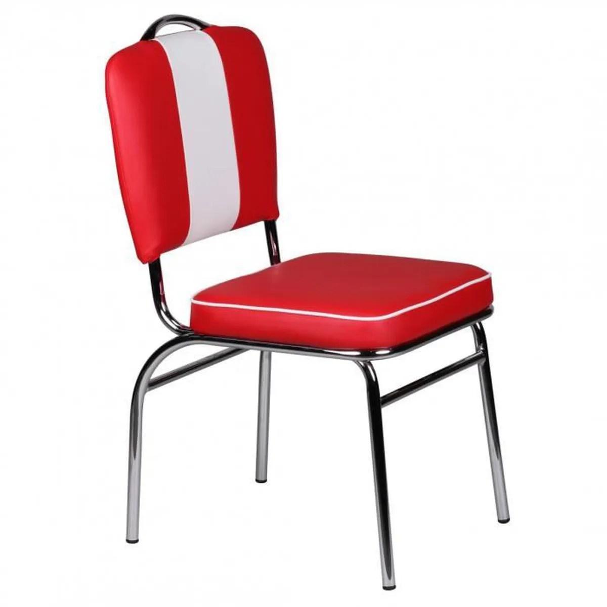 salle chaise americaine 50s diner retro