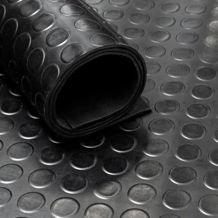 tapis caoutchouc pastille 3 mm largeur 120 cm p
