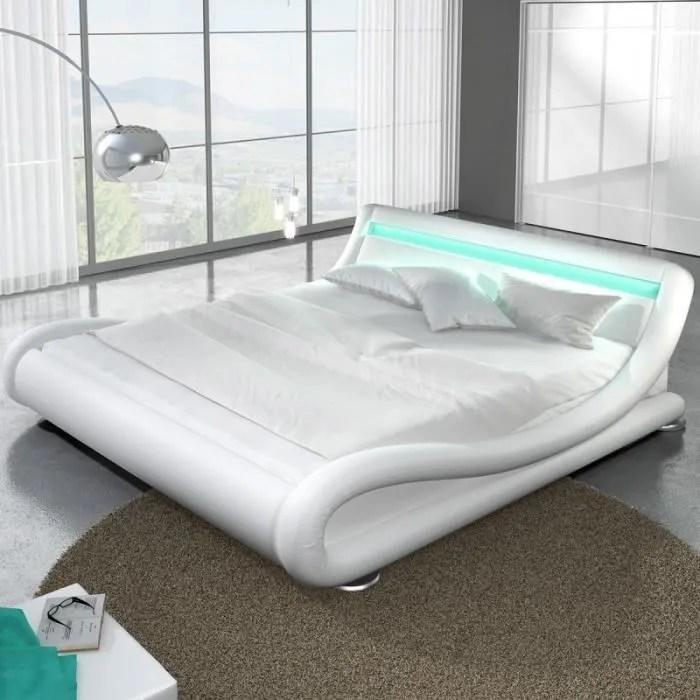 lit design led julia 180x200 blanc