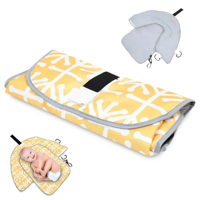 portable tapis a langer pliant bebe etanche matela